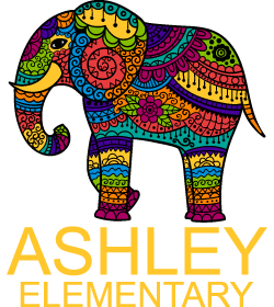 Ashley Elementary vertical logo