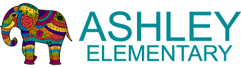 Ashley Elementary horizontal logo